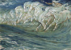 Walter_Crane_-_Neptunes_Horses_1910